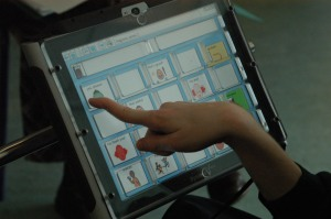 VOCA oaklands touchscreen close-up