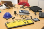 Selection of hardware at the Dart2 workshop