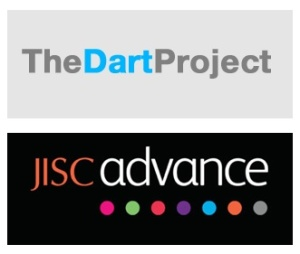 JISC Advance and Dart logos